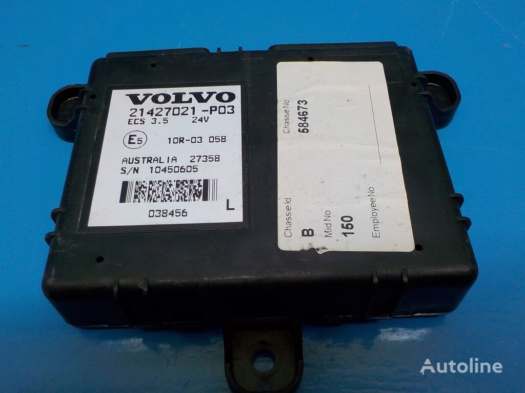 панелен блок  Блок электронный Vovlo за камион
