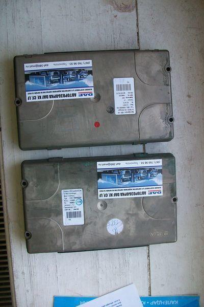 панелен блок  1364166 Siemens за влекач DAF