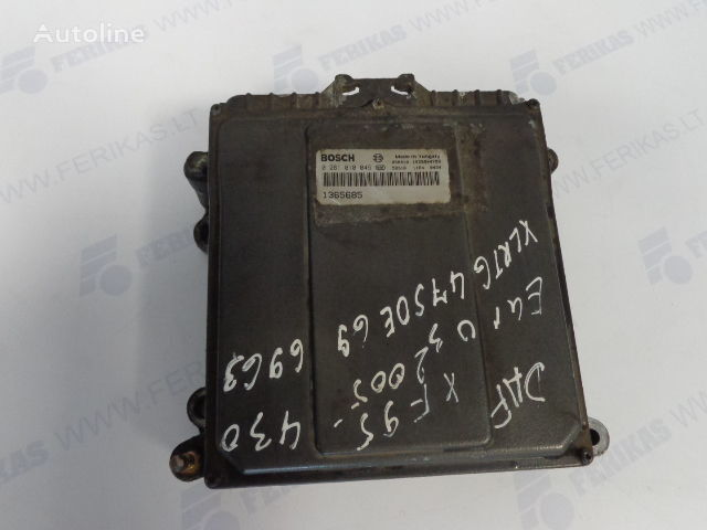 панелен блок  BOSCH ECU EDC Engine control 0281010045,1365685, 1684367, 1679021 за влекач DAF