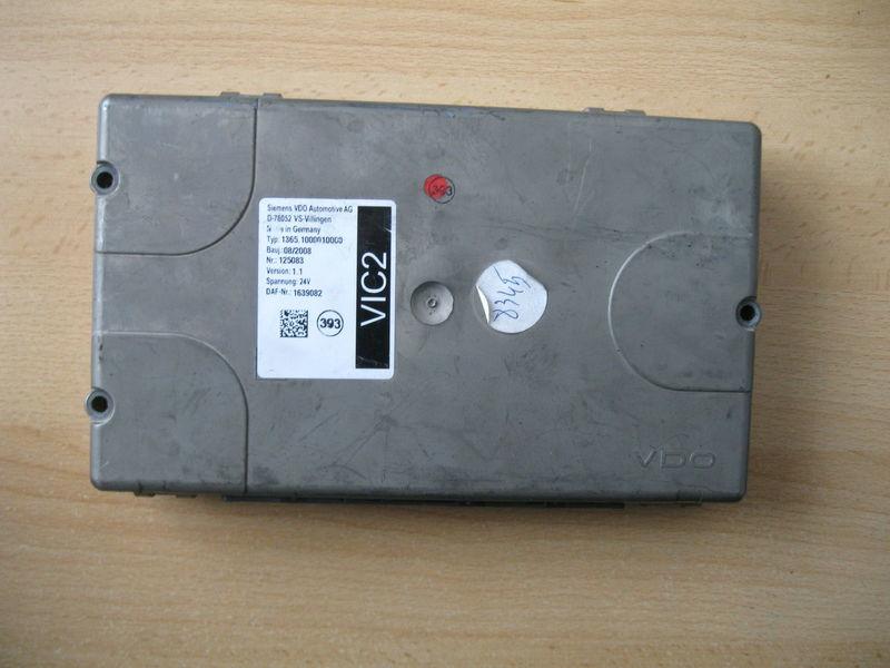 панелен блок  STEROWNIK VIC 2 за влекач DAF XF 105 / CF 85