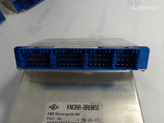 панелен блок  KNOR-BREMSE EBS Steuergerat 24V 0486106027,0486106052,0486106041,0486106071, 81258087057 за влекач MAN