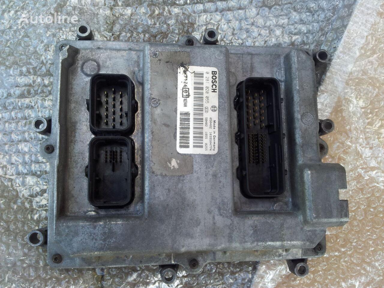 панелен блок  MAN Common Rail EDC, ECU electronic diesel control 0281020055, D2066LF01, 51258037126, 51258337169, 51258037127, 51258337168 за влекач MAN TGA