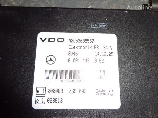 панелен блок  Mercedes Benz Actros MP2, MP3, MP4, FR control unit ECU 0014461902, 0014467302, 014464002, 0014464102 за влекач MERCEDES-BENZ Actros