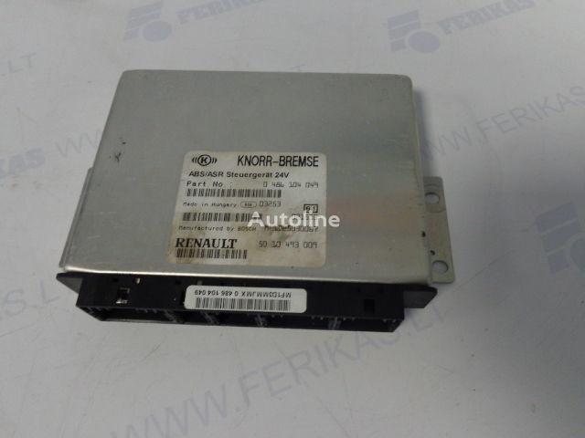 панелен блок  KNORR-BREMSE ABS ASR Steuergerat 0486104049,5010493009,BOCH MF1D25030067 за влекач RENAULT