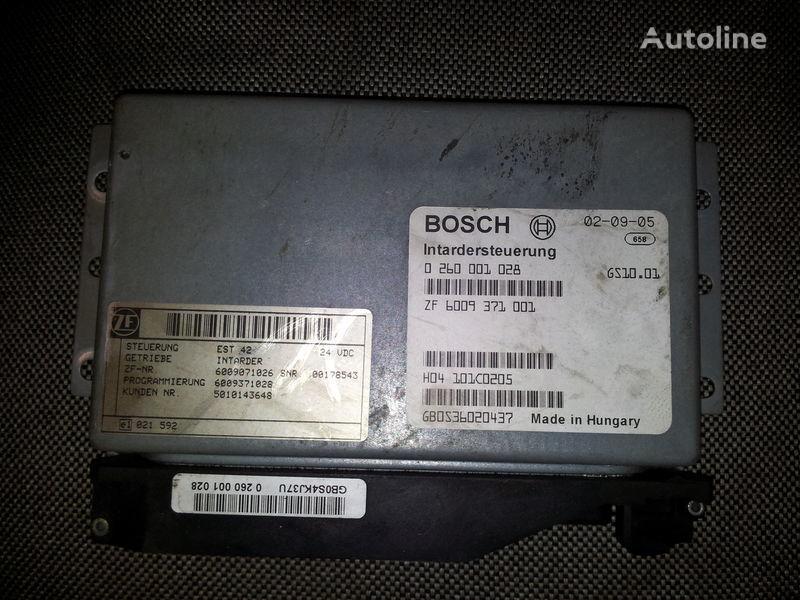 панелен блок  Renault intarder control unit, ECU, 0260001028 ZF 6009371001, 5010143648 за влекач RENAULT Magnum
