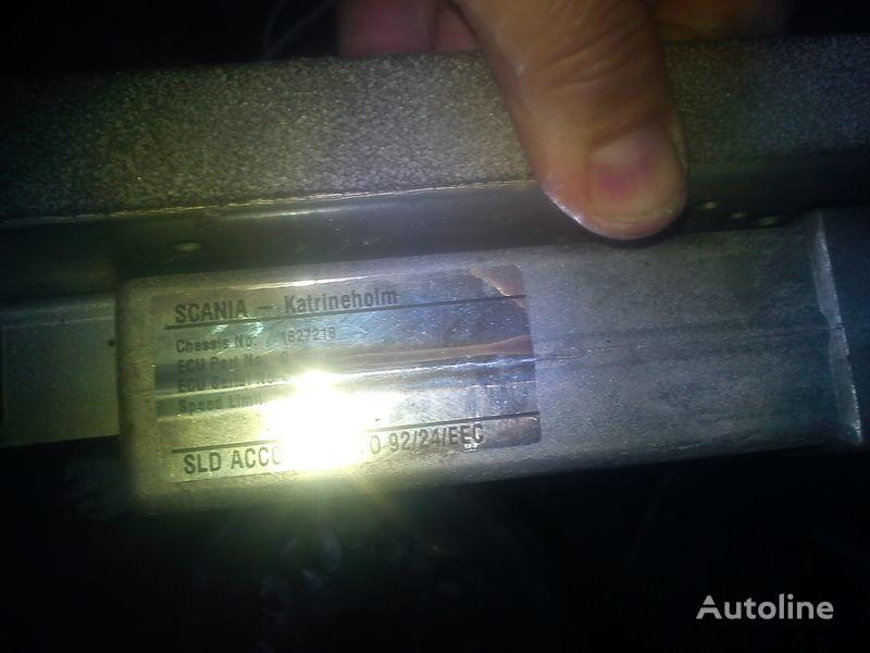 панелен блок  двигателем Скания 1827218  0281001209 за камион SCANIA 903