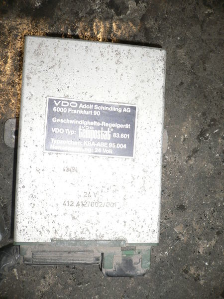 панелен блок  VDO 412.412/002/001 за автобус VOLVO