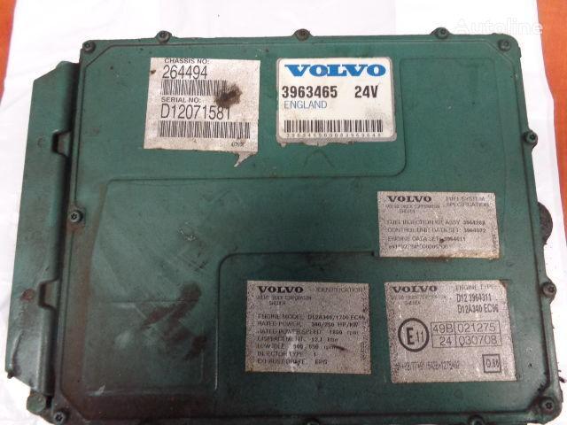 панелен блок  VOLVO FH12 engine control unit ECU, EDC, D12A340, 250KW, 340PS, 3963465 за влекач VOLVO FH12