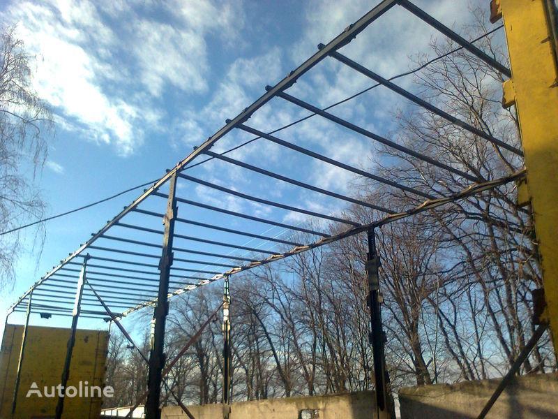 резервни части  Здвижная крыша за полуремарке