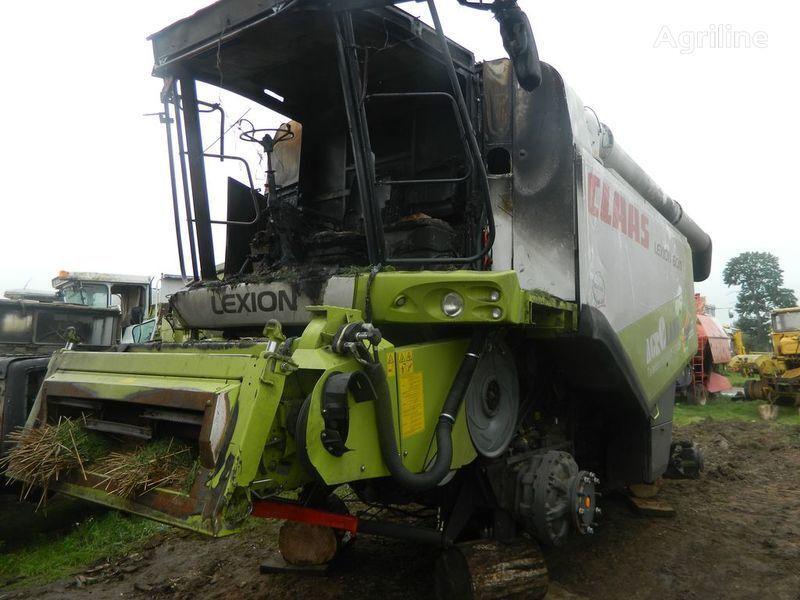 катастрофирала резервни части  б/у запчасти/ used spare parts за комбайн CLAAS LEXION 600