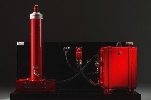 самосвална система  Binotto за Binotto