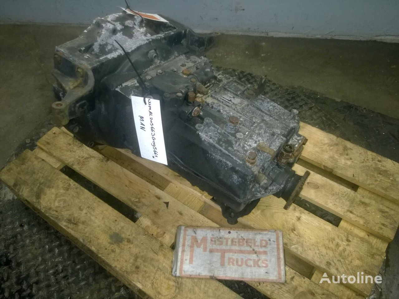 скоростна кутия за камион MAN Versn bak S6-36