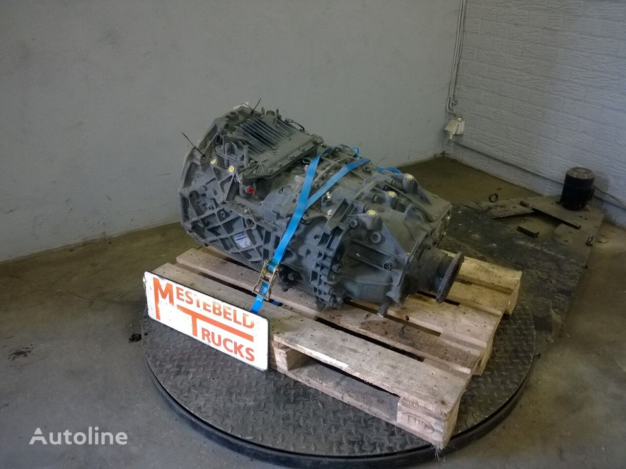 скоростна кутия  12AS 2130 TD за камион MAN Versnellingbak 12AS 2130 TD