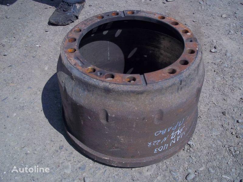спирачен барабан за камион MAN F2000