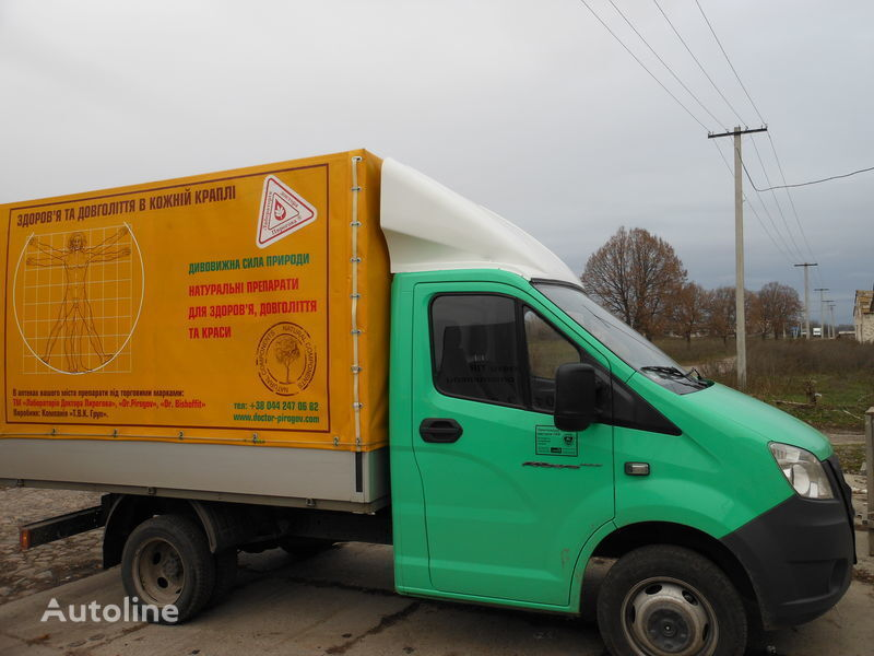 нов спойлер за камион ГАЗ NEXT