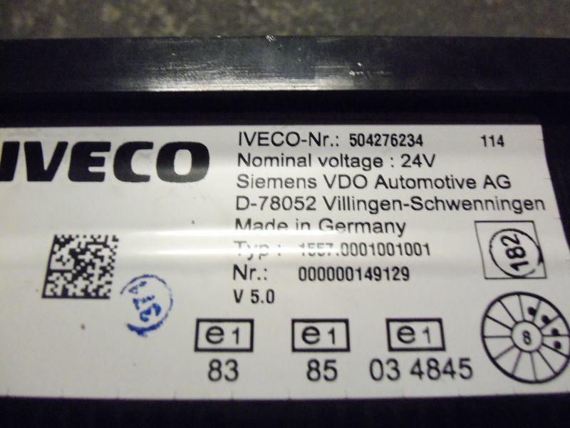 табло с уреди  IVECO EURO5 instrument panel cluster 504276234, 504226363, 504025358, 504156164, 504156187 за влекач IVECO Stralis