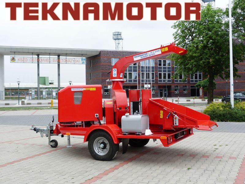 нов дробилка за клони TEKNAMOTOR Skorpion 250 SDT/G