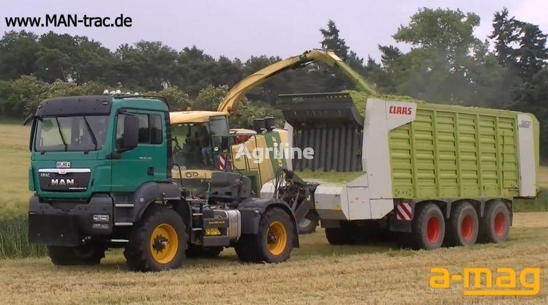 нов колесен трактор FENDT man-trac.de