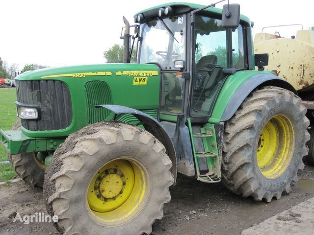 колесен трактор JOHN DEERE 6920