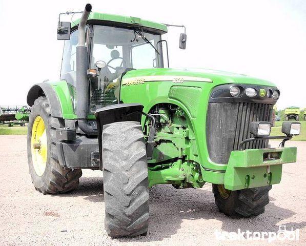 колесен трактор JOHN DEERE 8320