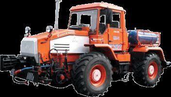 колесен трактор ММТ-2  Маневровый мотовоз на базе трактора ХТА-200