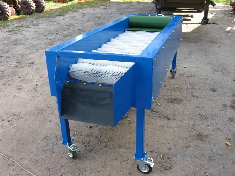 нов машина за миене зеленчуци GRIMME Сухая чистка 14 щеток