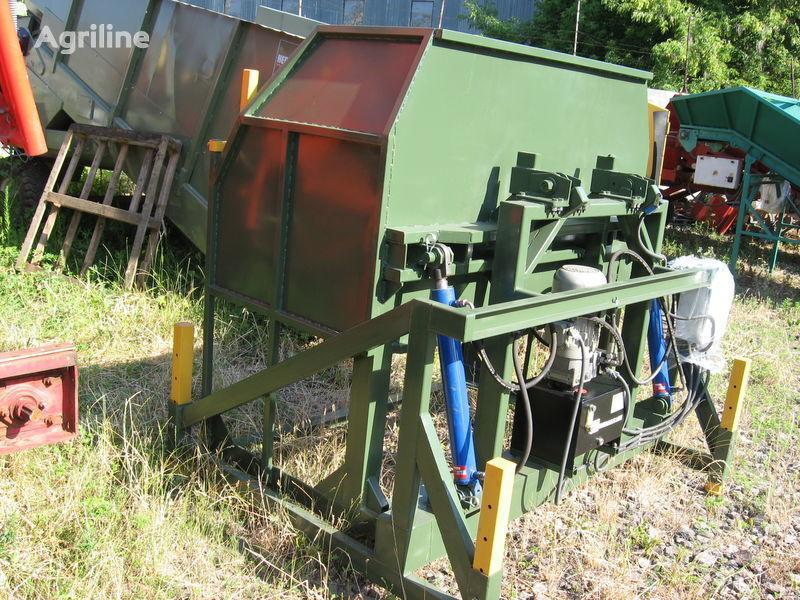 нов приемен бункер KEULMAC опрокидыватель овощных контейнеров