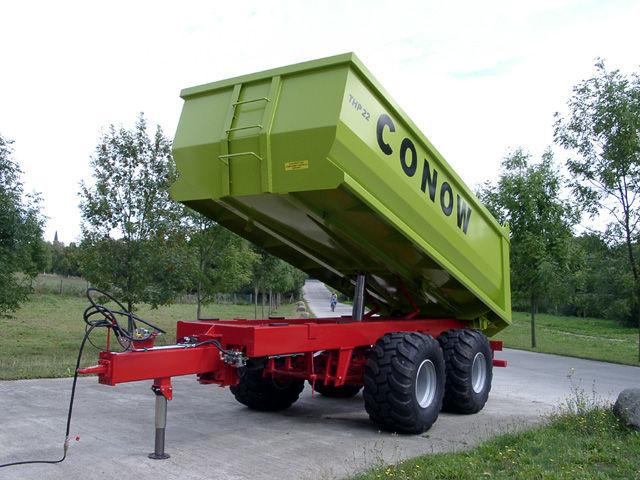 нов ремарке за трактор CONOW THP 22