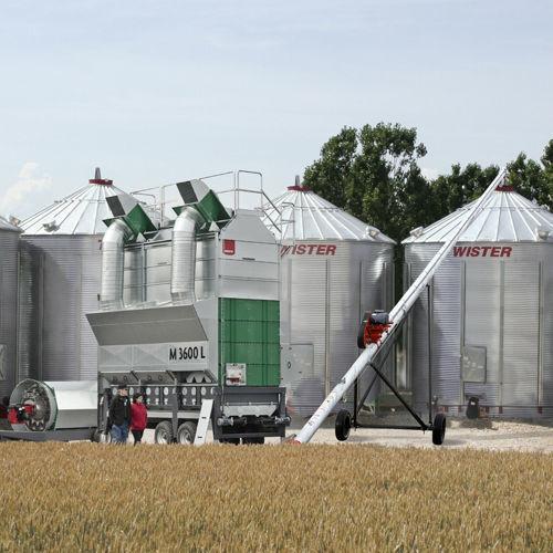 зърносушилня Мобильные вакуумные зерносушилки MEPU серии L