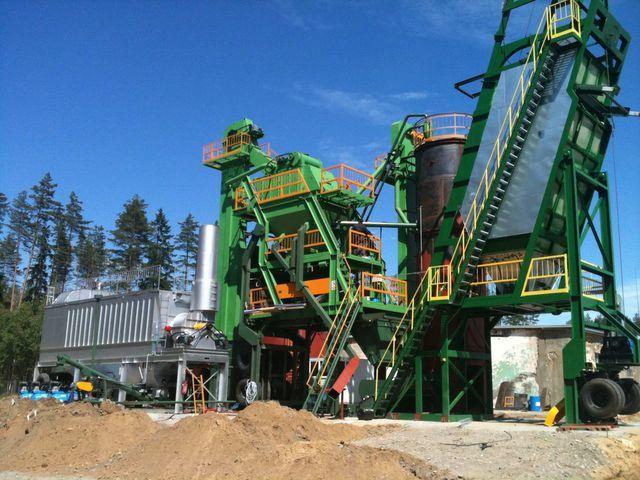 нов асфалтов завод DMI DMAP MB 1300