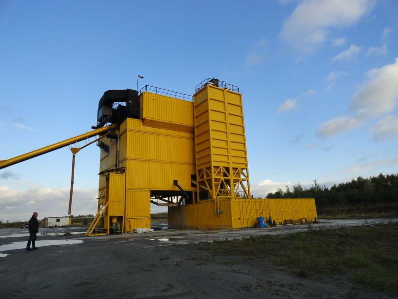 асфалтов завод LINTEC CSD 3000