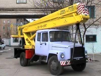 автовишка ГАЗ ВС—18 Подъемник ВС—18 с 5ти местной кабиной