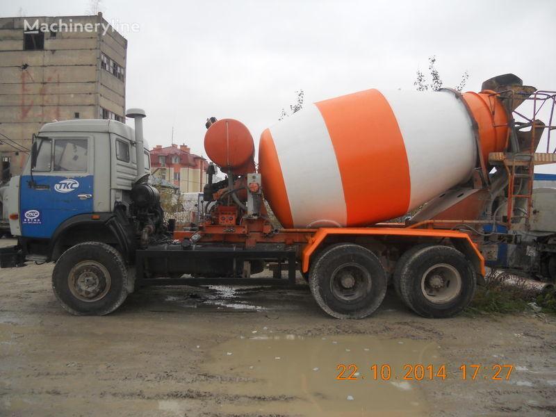 бетон миксер КАМАЗ 53229А