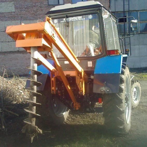 друга строителна техника Ямокопатель (ямобур) навесной марки БАМ 1,3 на базе трактора МТЗ