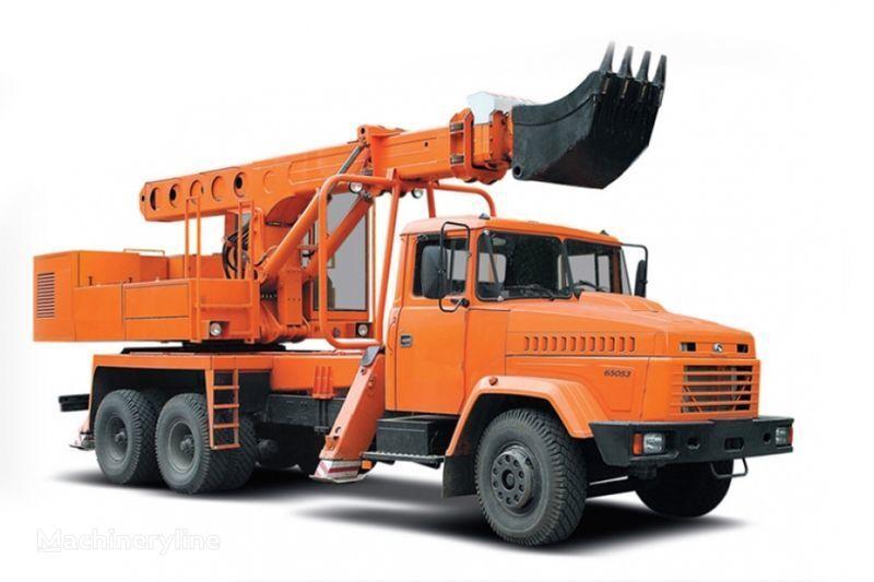 камион с планировъчна кофа КРАЗ 65053 UDS-114R Автоэкскаватор-планировщик