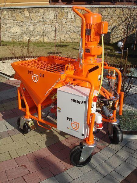 нов машина за мазилка PFT G 4 Next Generation