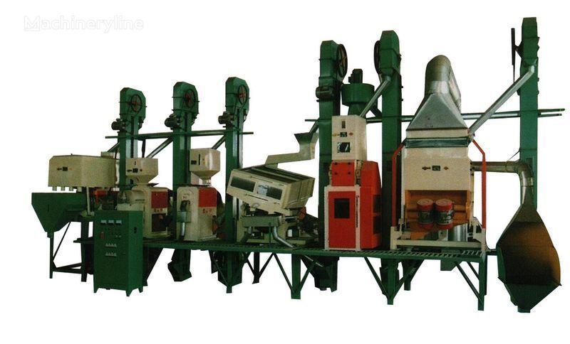 нов промишлено оборудване Рисовый завод Китай 18 - 150 тонн в сутки