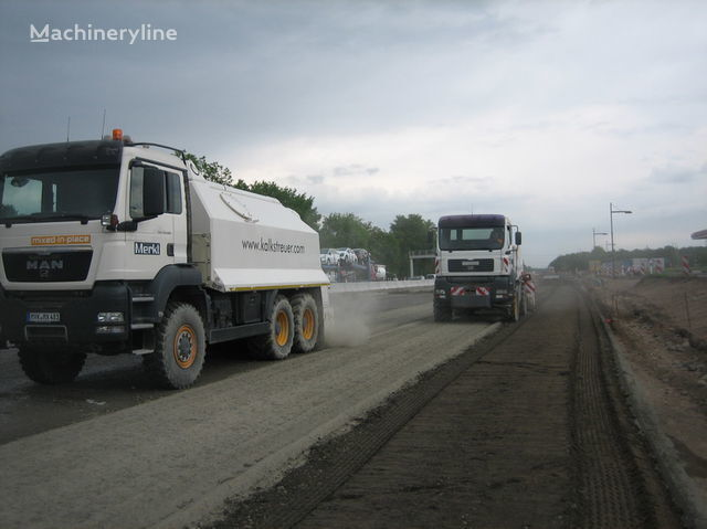 нов рециклираща машина MAN amag cement spreader MAN TGS 33.440 - 6x6