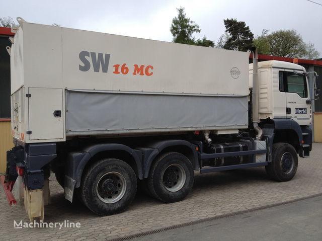 рециклираща машина WIRTGEN Spreader Streumaster SW 16 MC