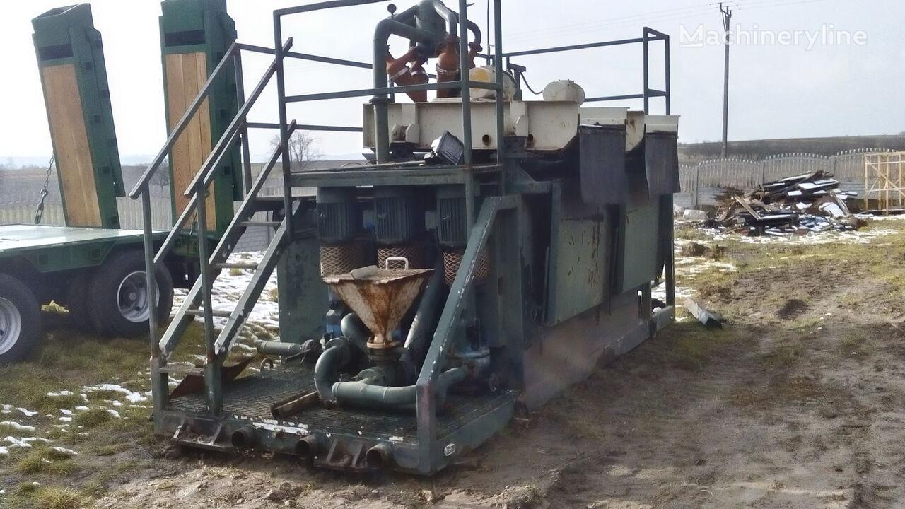 сондажна машина VERMEER  Mud recycling unit Basic Fabrication MCS 260
