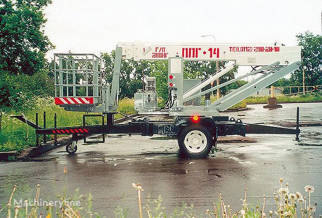 телескопична платформа Подъемные машины ППГ-14
