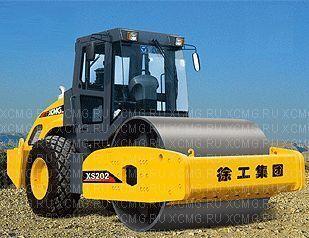 нов валяк за почва XCMG XS202