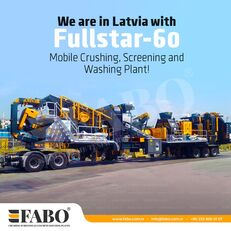 Нов Fabo FULLSTAR-60 Crushing, Washing & Screening  Plant