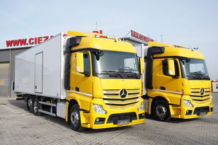 MERCEDES-BENZ Actros 2542 , E6 , 6x2 , 22 EPAL, Side door , lift axle , Carri