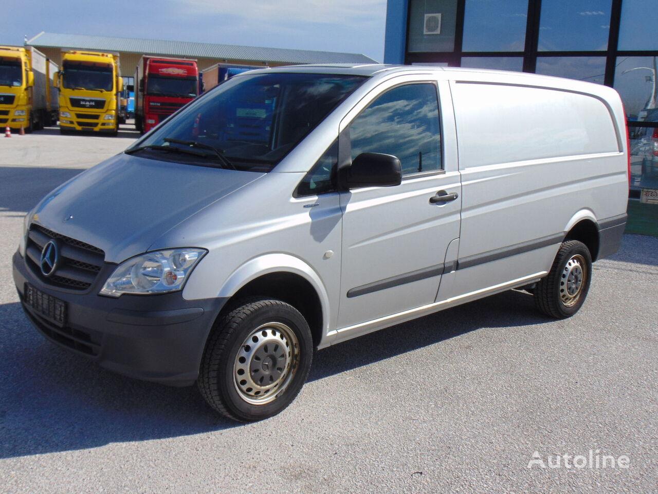 лекотоварен фургон MERCEDES-BENZ 116 CDI 4X4 / EURO 5a