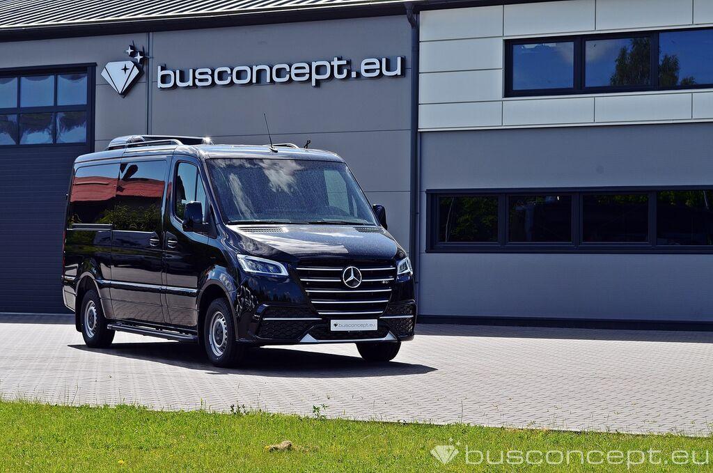 нов товаропътнически бус MERCEDES-BENZ Sprinter 319 Taxi +Lift / Full Car CoC