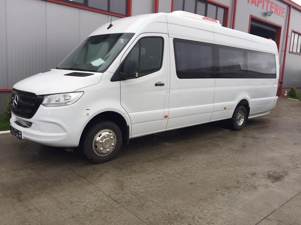 нов пътнически бус MERCEDES-BENZ Sprinter IDILIS 519,  *COC*  prolonged with 50cm fiber/steel, ST