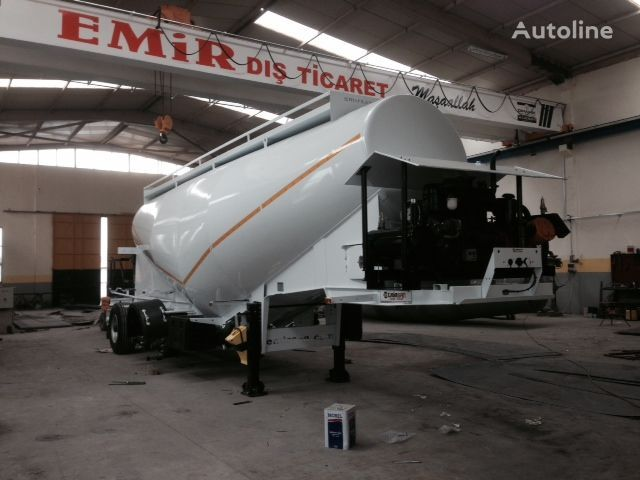 цистерна циментовоз EMIRSAN Direct from Factory Customized Cement Tankers , Brand NEw