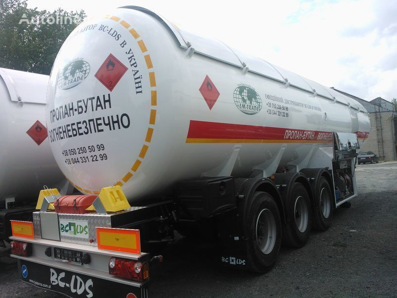 нов цистерна за газ LDS NCG-46