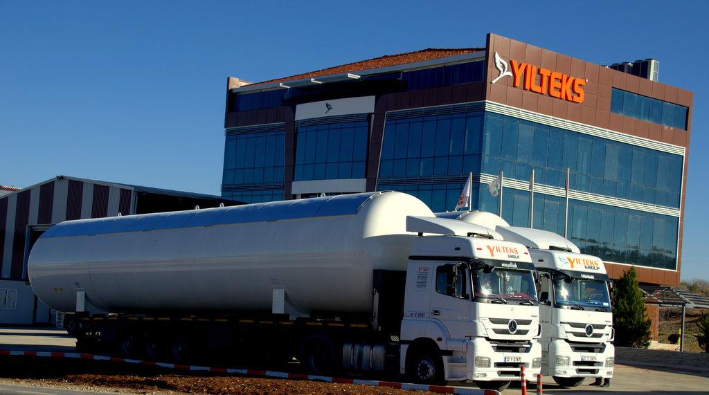 нов цистерна за газ YILTEKS LPG Storage Tank